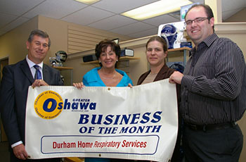 Oshawa business of the month